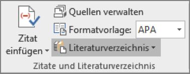 Reiter Referenzen – Zitate und Literaturverzeichnis