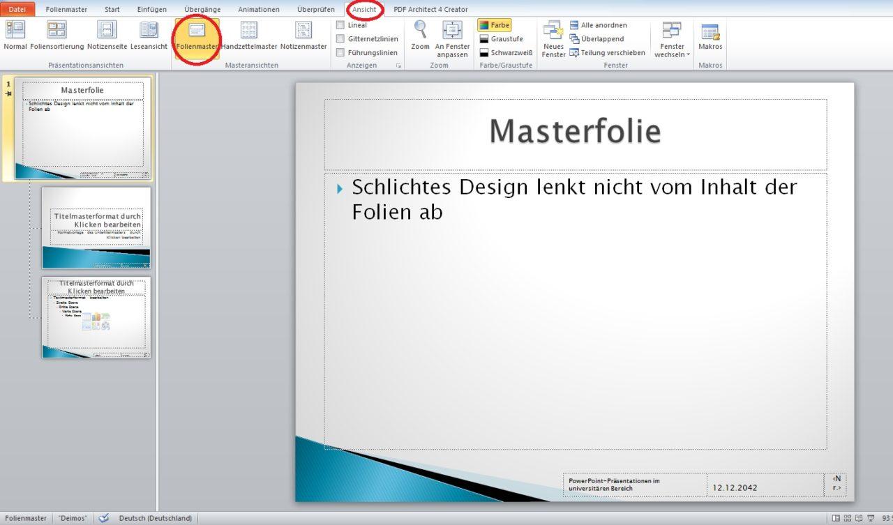 Ziemlich Großartige Powerpoint Präsentationsvorlagen Ideen ...